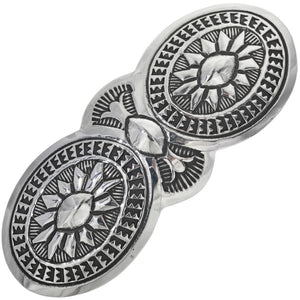 The Manuelito Sterling Silver Hair Barrette