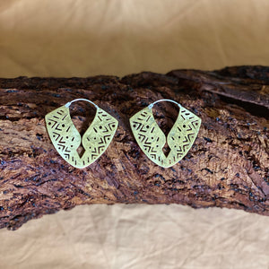 Ananada Earrings - brass