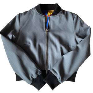 African Queen reversible bomber jacket