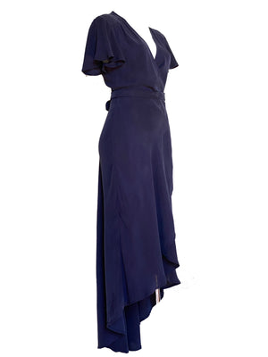 Bovi Wrap Dress- Viscose