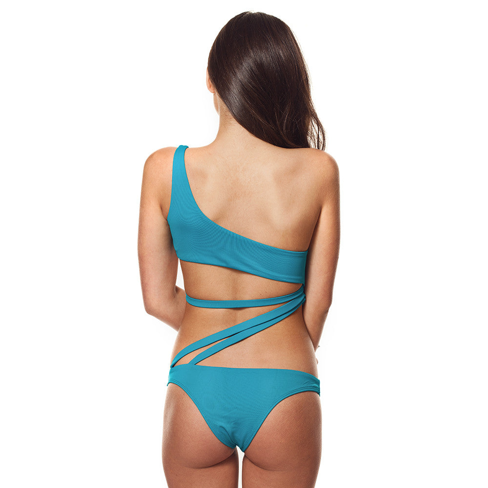 Very Sexy Strappy Cutout One Piece Swimwear
