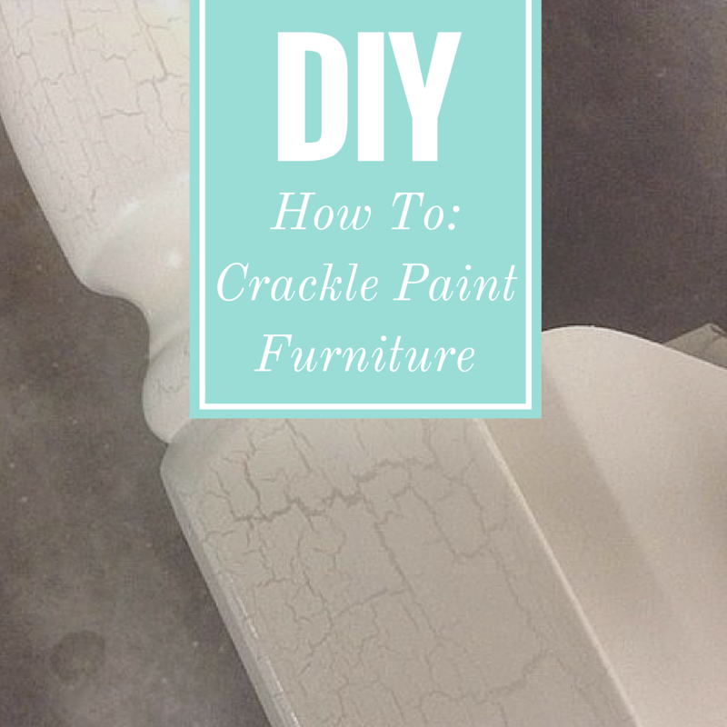 How To: Crackle Paint