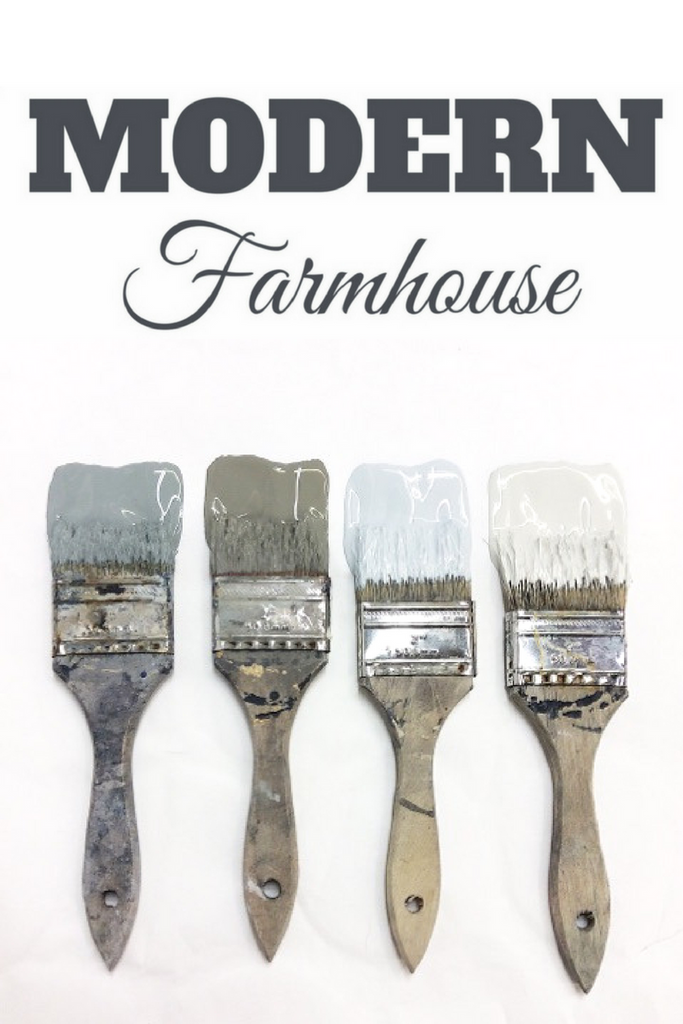The NEW Modern Farmhouse Paint Collection in action!