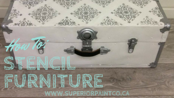 How To: Stencil Your Furniture