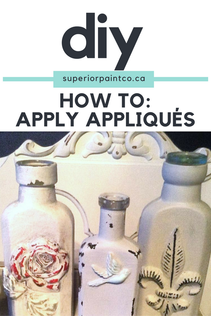 How To: Apply Appliqués