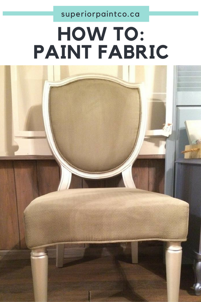 How To: Paint Fabric