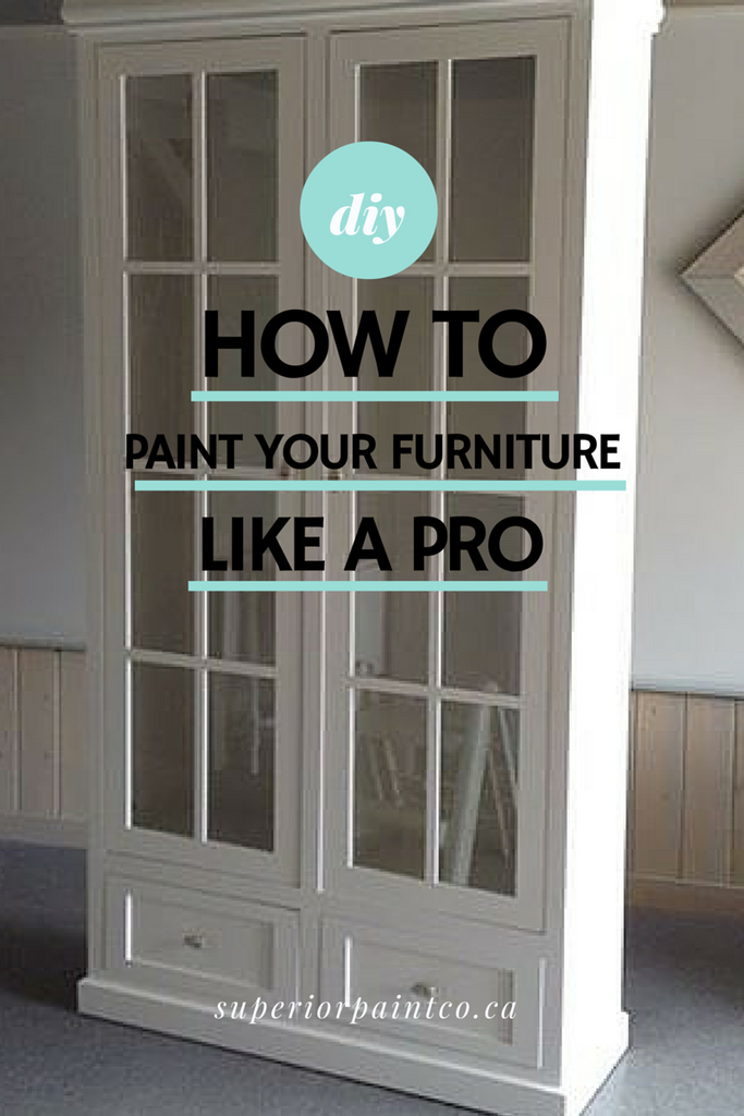 How To: Hand Paint Furniture Like A Pro