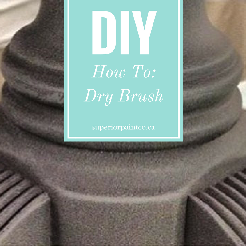 How To: Dry Brush Furniture
