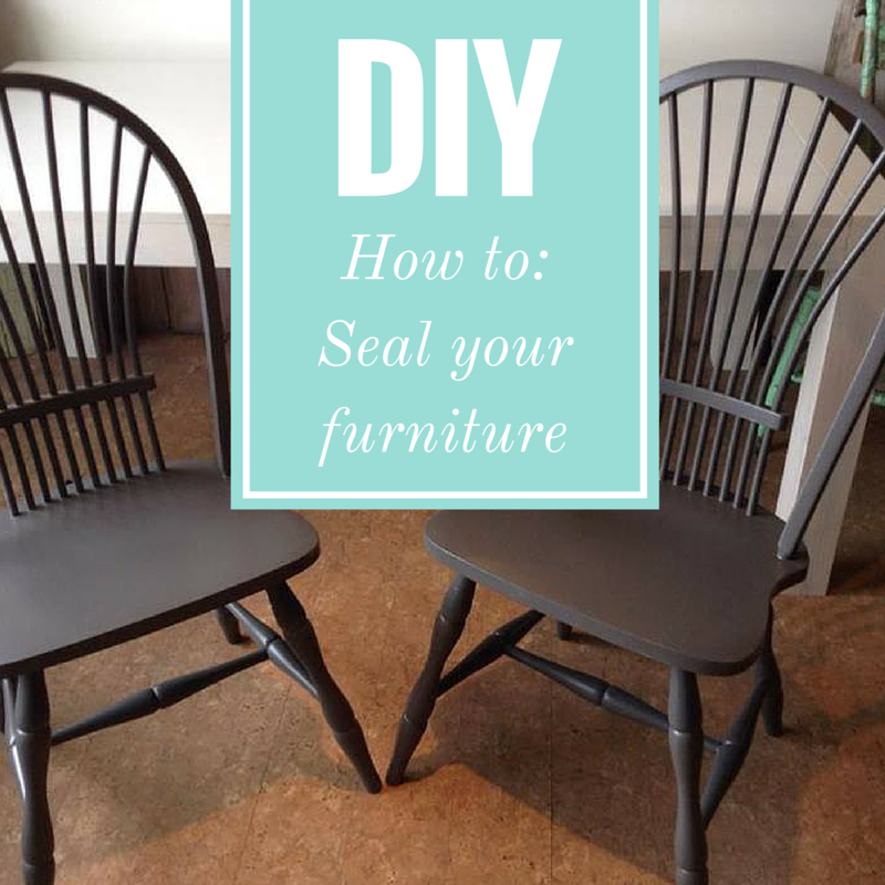 How To: Seal Furniture