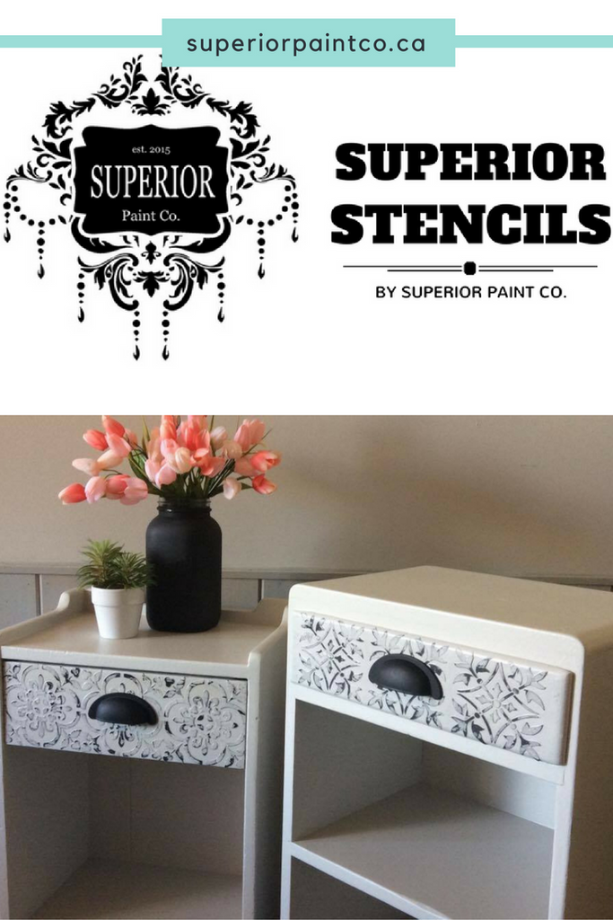 The NEW Superior Stencil Collection