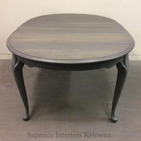 Professional furniture refinishing by Superior Interiors Kelowna