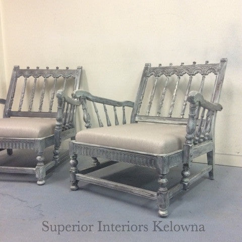 Superior Interiors Kelowna offers professional furniture refinishing specializing in one of a kind finishes