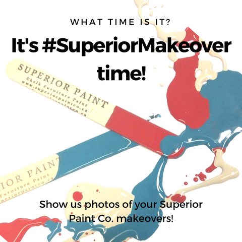 Superior Paint Co. Mixologist Furntiure Makeover Contest