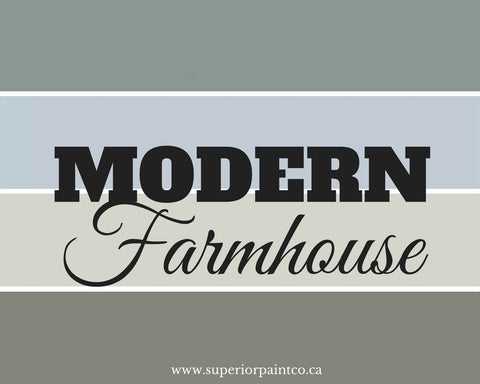 New Modern Farmhouse Chalk Paint Colours by Superior Paint Co.