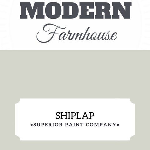 Shiplap Superior Paint Co. Furniture & Cabinet Paint