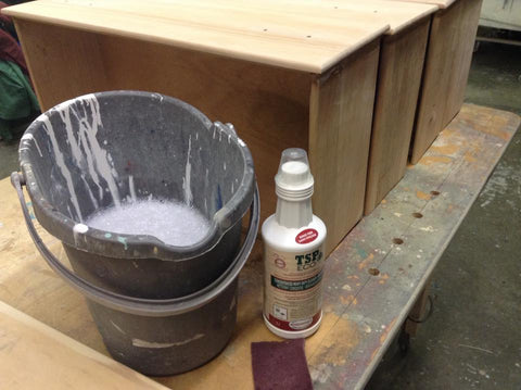 Cleaning your furniture before staining