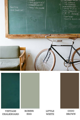 Vintage Chalkboards - Introducing the new chalk paint colour for summer 2018