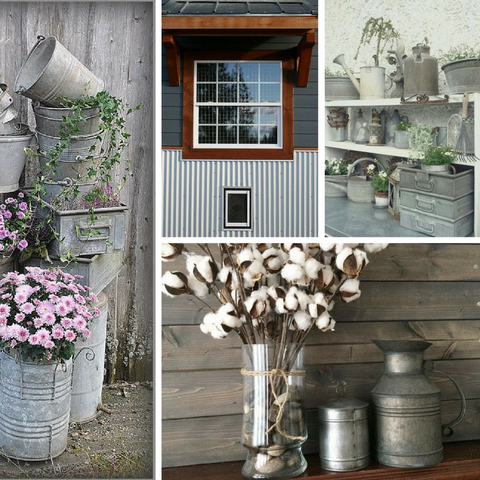 Galvanized Grey Inspiration Board