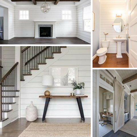 Shiplap Furniture Paint