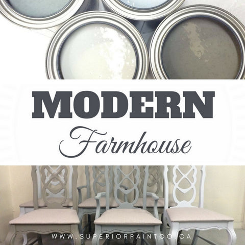New Modern Farmhouse Paint Collection