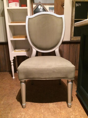 Painting upholstery with chalk paint