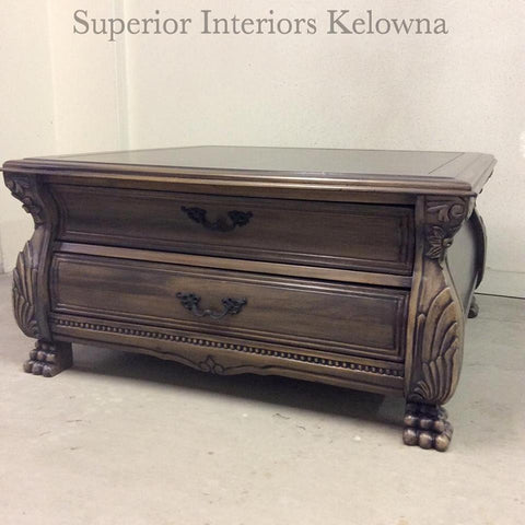 Custom furniture refinishing in Kelowna BC by Superior Interiors