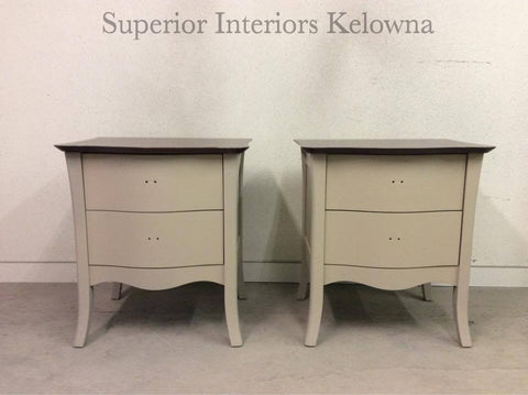 Custom furniture refinishing by Superior Interiors Kelowna