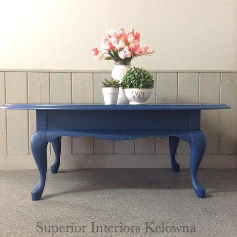 Custom furniture refinishing services by Superior Interiors Kelowna