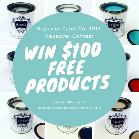 Superior Paint Co. Makeover Contest 2017