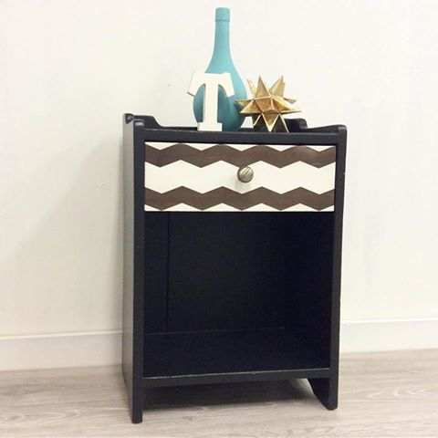 Chevron pattern using Shape Tape