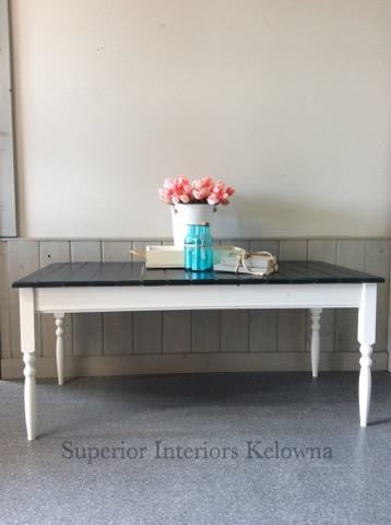 Ship lap coffee table by Superior Paint Co.