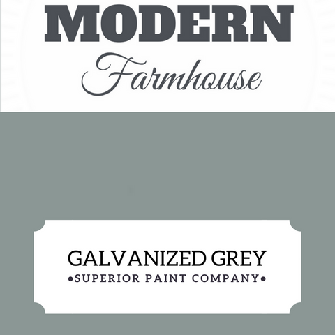 Galvanized Grey Furniture Paint
