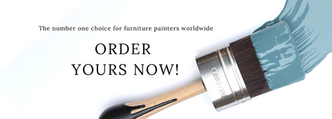 Order yours here - The New ClingOn! S50 Short Handle Paint Brush for Chalk Painting and Furniture Refinishing