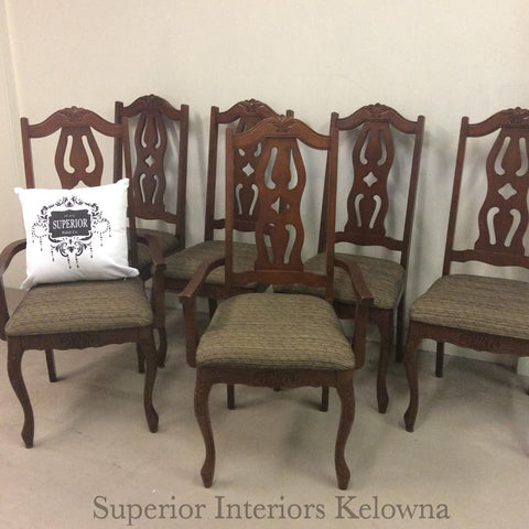 Custom upholstery work by Superior Interiors Kelowna
