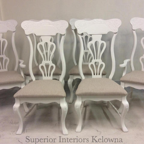 Superior Interiors Kelowna custom furntiure refinishing and upholstery services in Kelowna BC
