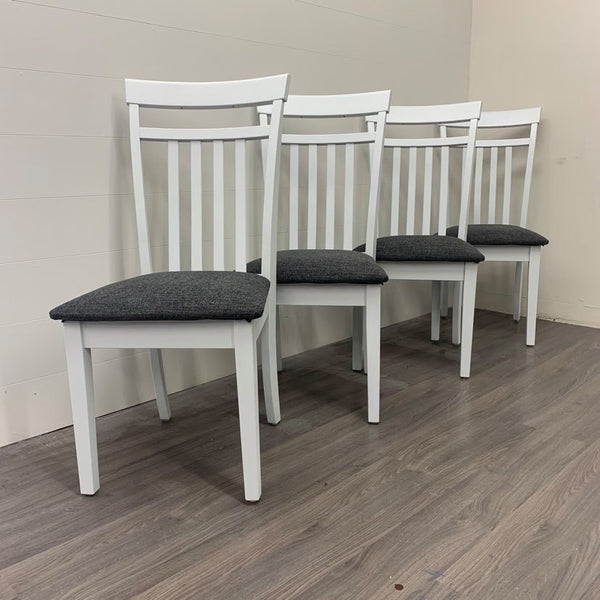 4 Crystal Mountain Dining Chairs