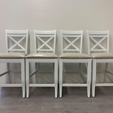 4 Crystal Mountain Counter Height Stools