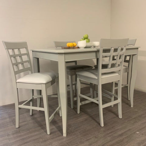 6 Piece Greystokes Grey Dining Set