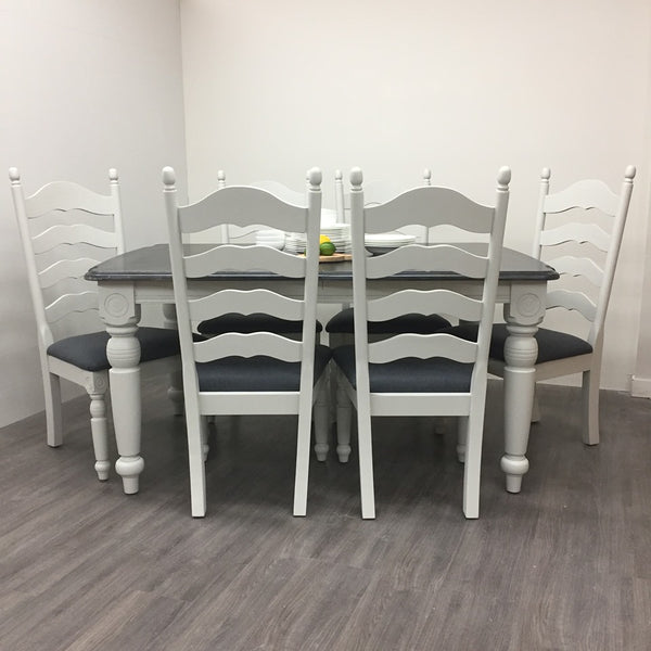Large Farmhouse Dining Set