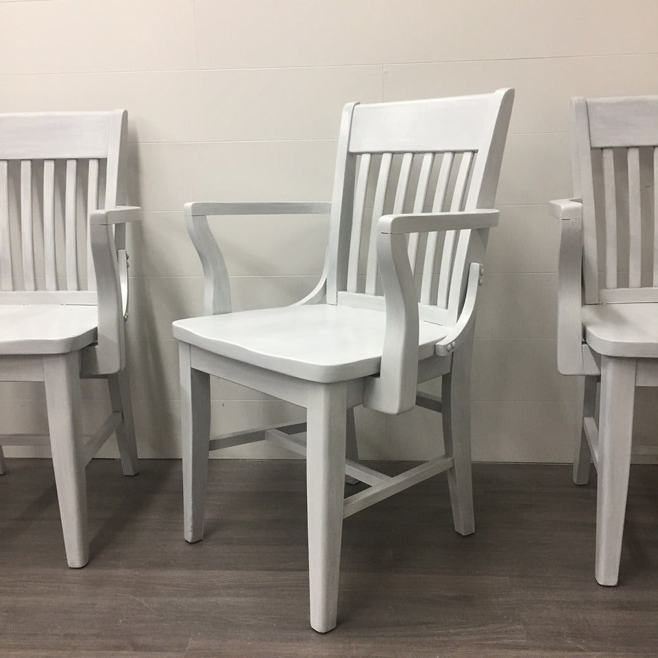 6 Maple Schoolhouse Dining Chairs