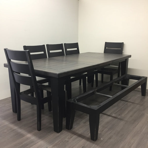 8 Piece Maple Dining Set