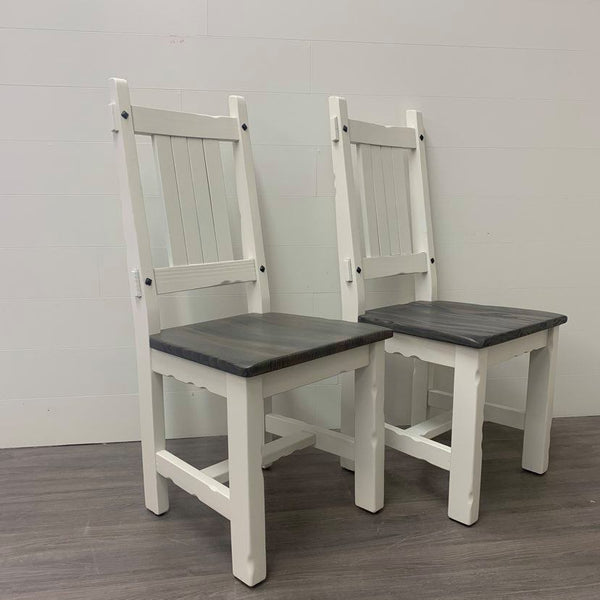 2 Modern Farmhouse Dining Chairs