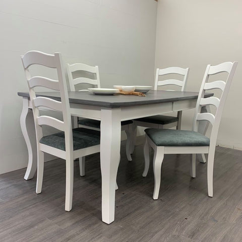 5 Piece Solid Maple Dining Set