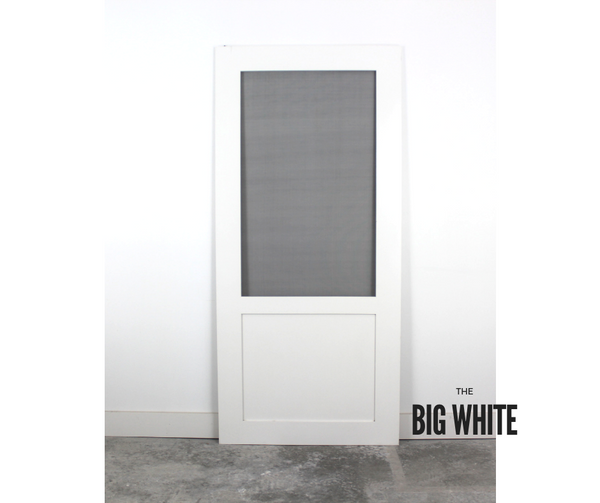The Big White - Superior Screen Door