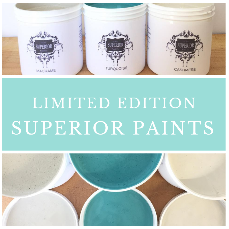 Limited Edition Superior Paints