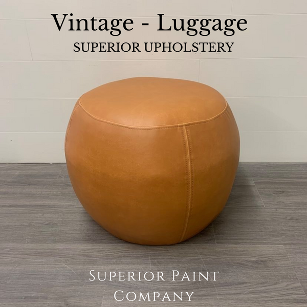 Vintage - New Vegan Leather Upholstery