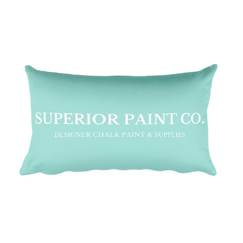 Superior Paint Co. Desiger Rectangular Pillow