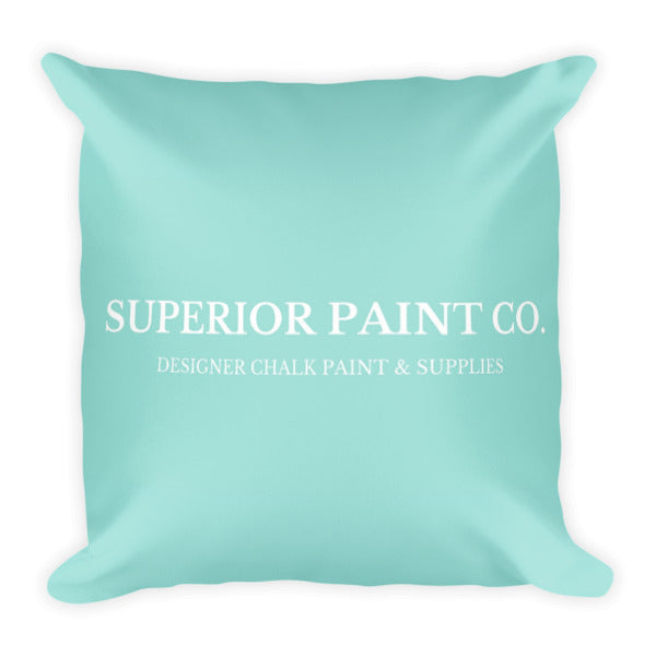 Superior Paint Co. Designer Square Pillow