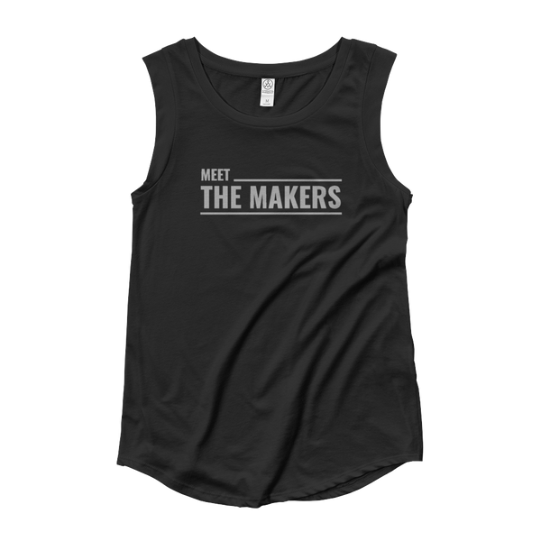 Meet the Makers Ladies' Cap Sleeve T-Shirt