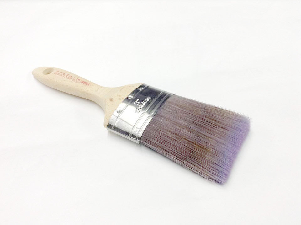 Oval Chalk Paint Brush